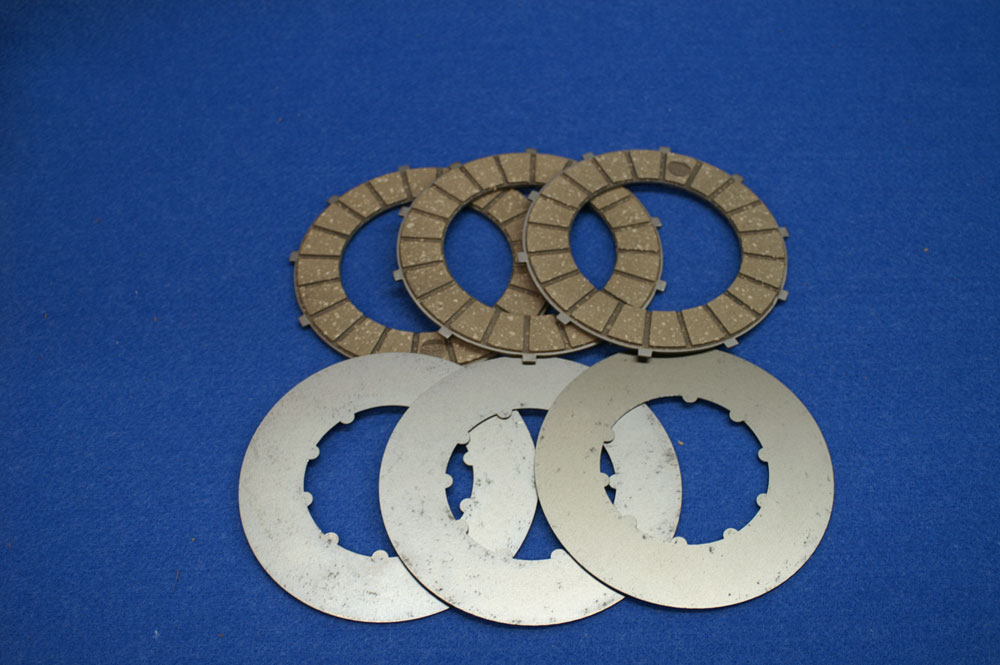 TIGER CUB SURFLEX CLUTCH KIT WITH SPECIAL NARROW STEEL PLATES