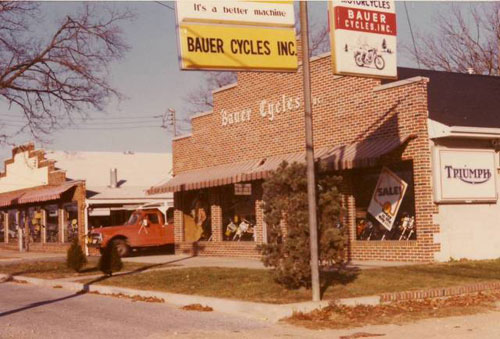 Bauer Cycles, Vineland, NJ circa 1970's